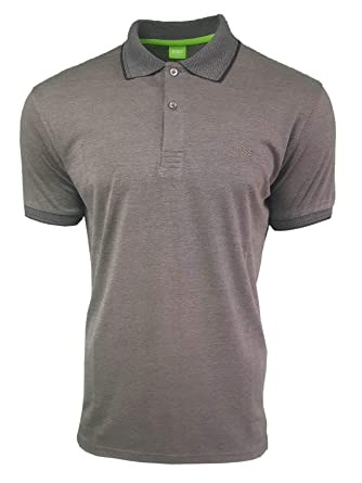 b62b95aa5 Hugo Boss . Men's Short Sleeve Mercerised Polo Shirt: Amazon.co.uk ...