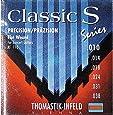 Thomastik-Infeld KF110 Classical Guitar Strings: Classic S Series Rope Core Set with Chrome Steel E, B, G, D, A, Plain Steel e