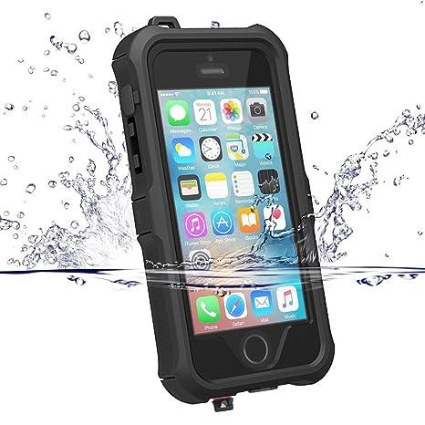 ccbd7b9d787 Funda Impermeable Para iPhone 5S/SE, ZVE® Carcasa iPhone 5S Prueba de Agua