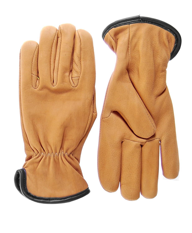 Geier Glove Mens Merino Wool Lined Deerskin Gloves