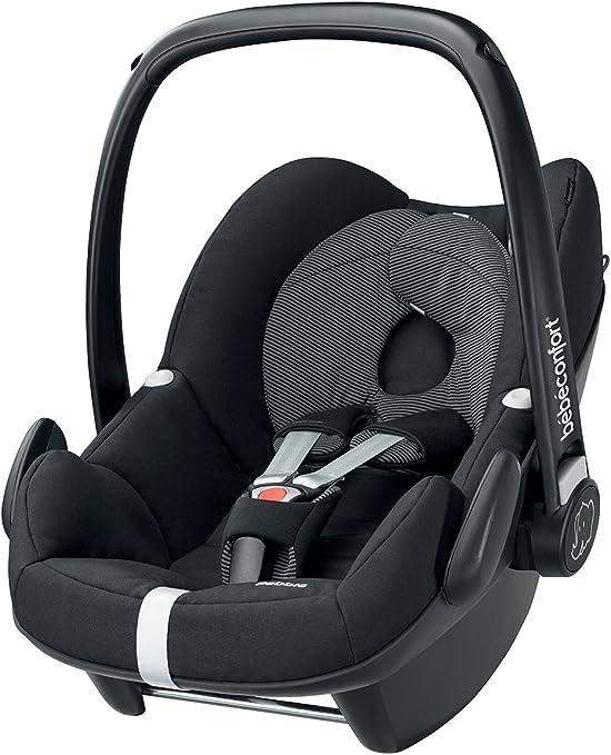 Bébé Confort Pebble - Silla de coche, grupo 0+, color gris: Amazon ...