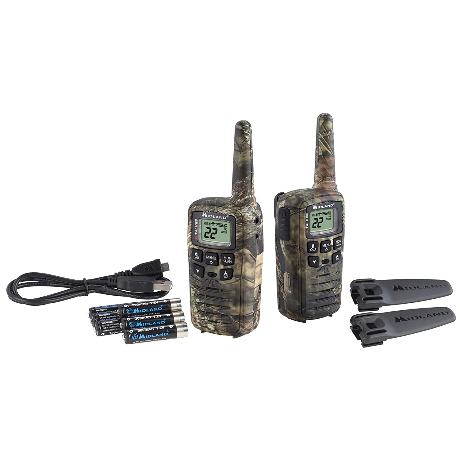 Midland Walkie Talkie >> Amazon Com Midland X Talker T35vp 22 Channel Frs Walkie Talkie