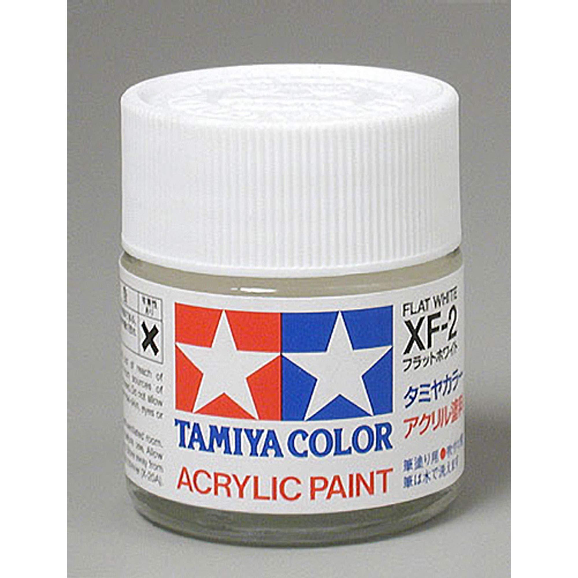 Tamiya TAM81302 Acrylic XF2 Flat, White 23ml.