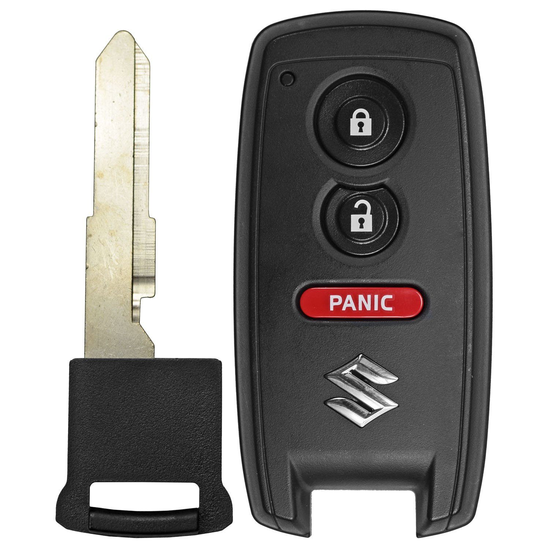 QualityKeylessPlus Genuine Oem Smart Proximity Remote For Suzuki Grand Vitara SX4 FCC ID KBRTS003 FREE KEYTAG