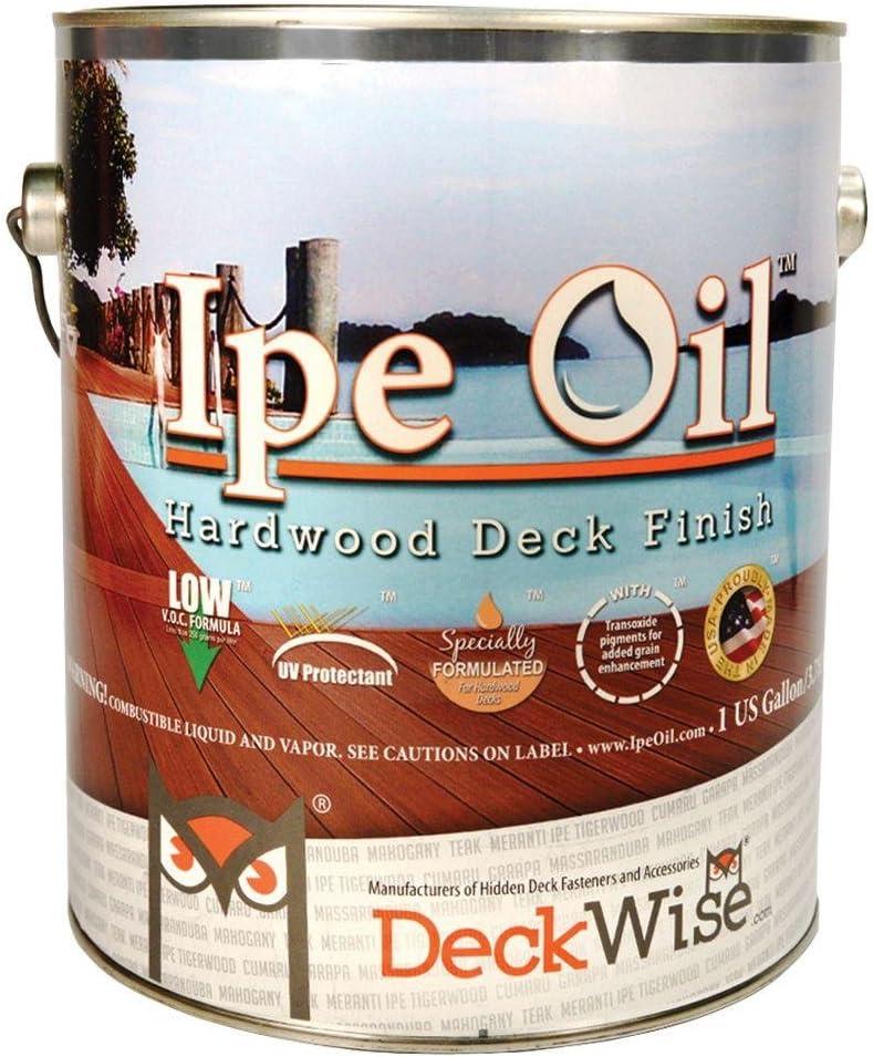 Deckwise Ipe aceite terraza de madera acabado 1 gal (aprox ...
