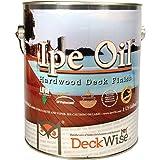 DeckWise Ipe Oil Hardwood Deck Finish, UV Resistant, 1 Gallon Can
