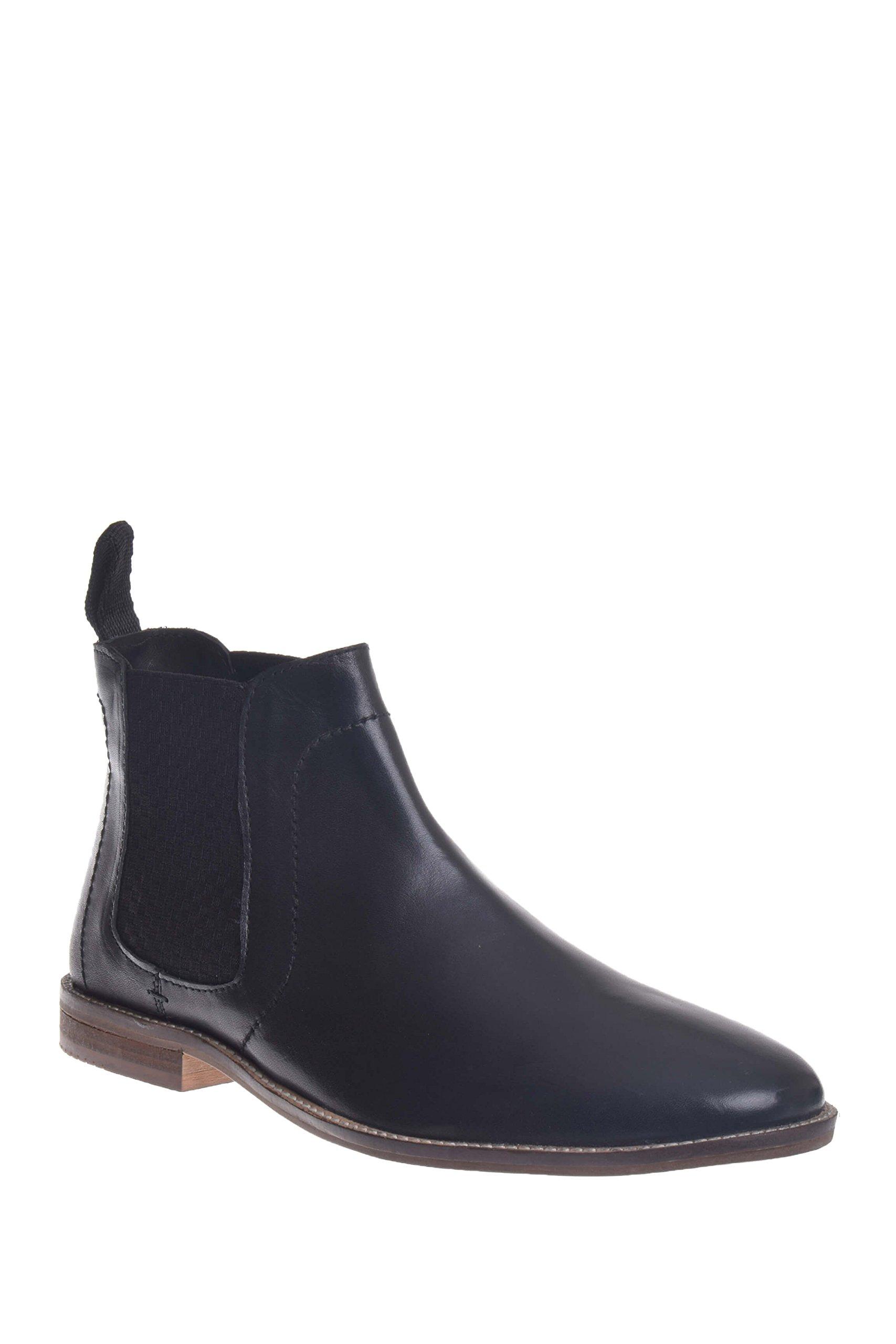 Ben Sherman Men's Gaston Chelsea Boot, Black-01A, 12 M US