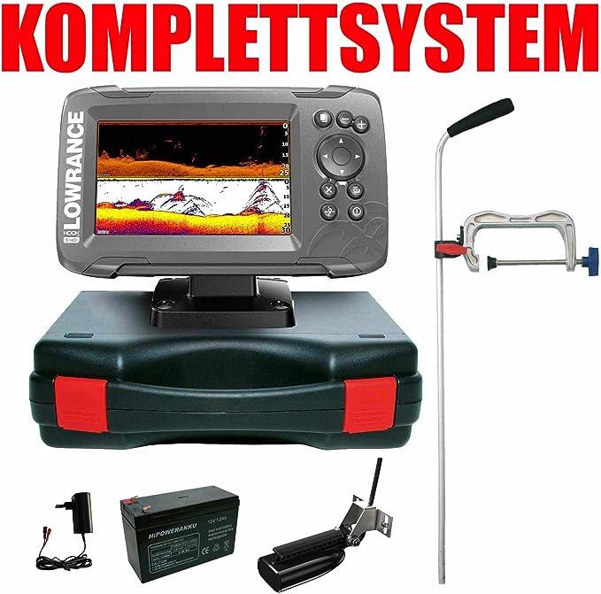 Lowrance Echolot GPS portátil profesional – hook2 5 Split Shot HDI Chirp Combo GPS: Amazon.es: Deportes y aire libre