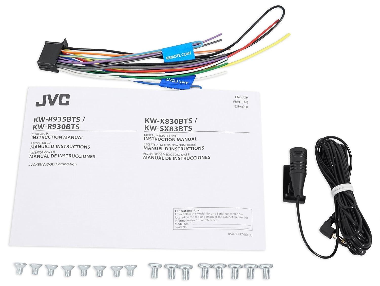 Amazon.com: JVC Stereo CD Receiver w/Bluetooth/USB/iPhone/Sirius for on jvc cd, jvc home stereo, jvc car receivers, jvc tv,