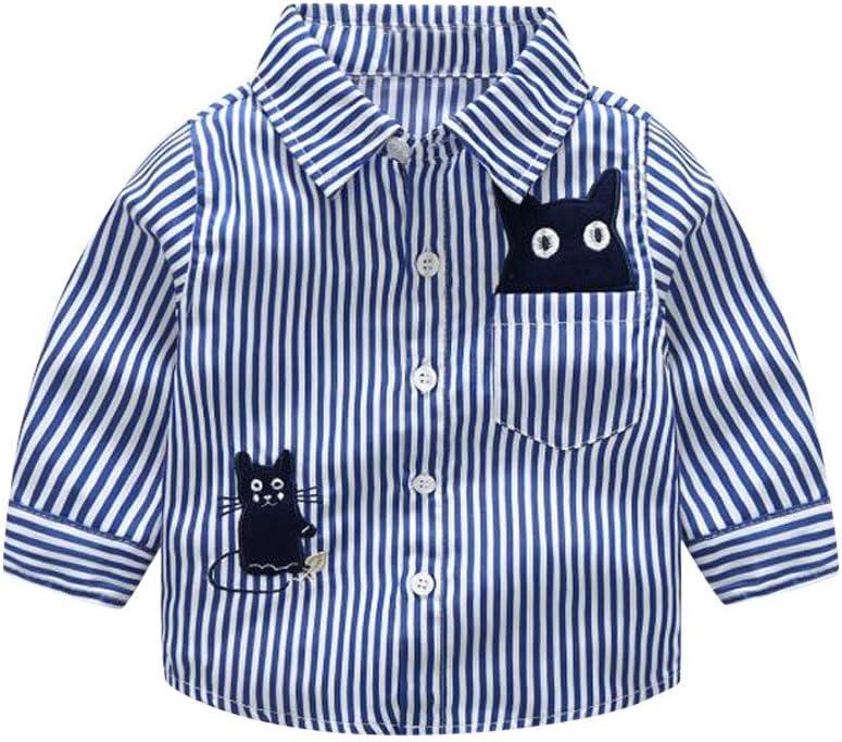 Snakell - Camisa de manga larga para niño, camisa para traje regional para niños, camisa para niño, de algodón, con botón en la parte inferior, algodón, azul, 6 m: Amazon.es: Hogar