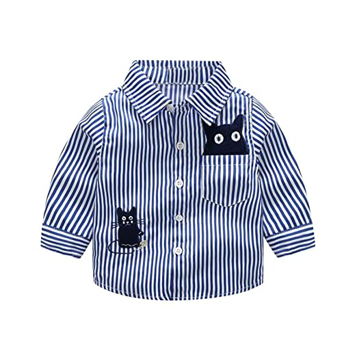 Snakell - Camisa de Manga Larga para niño, Camisa para Traje ...
