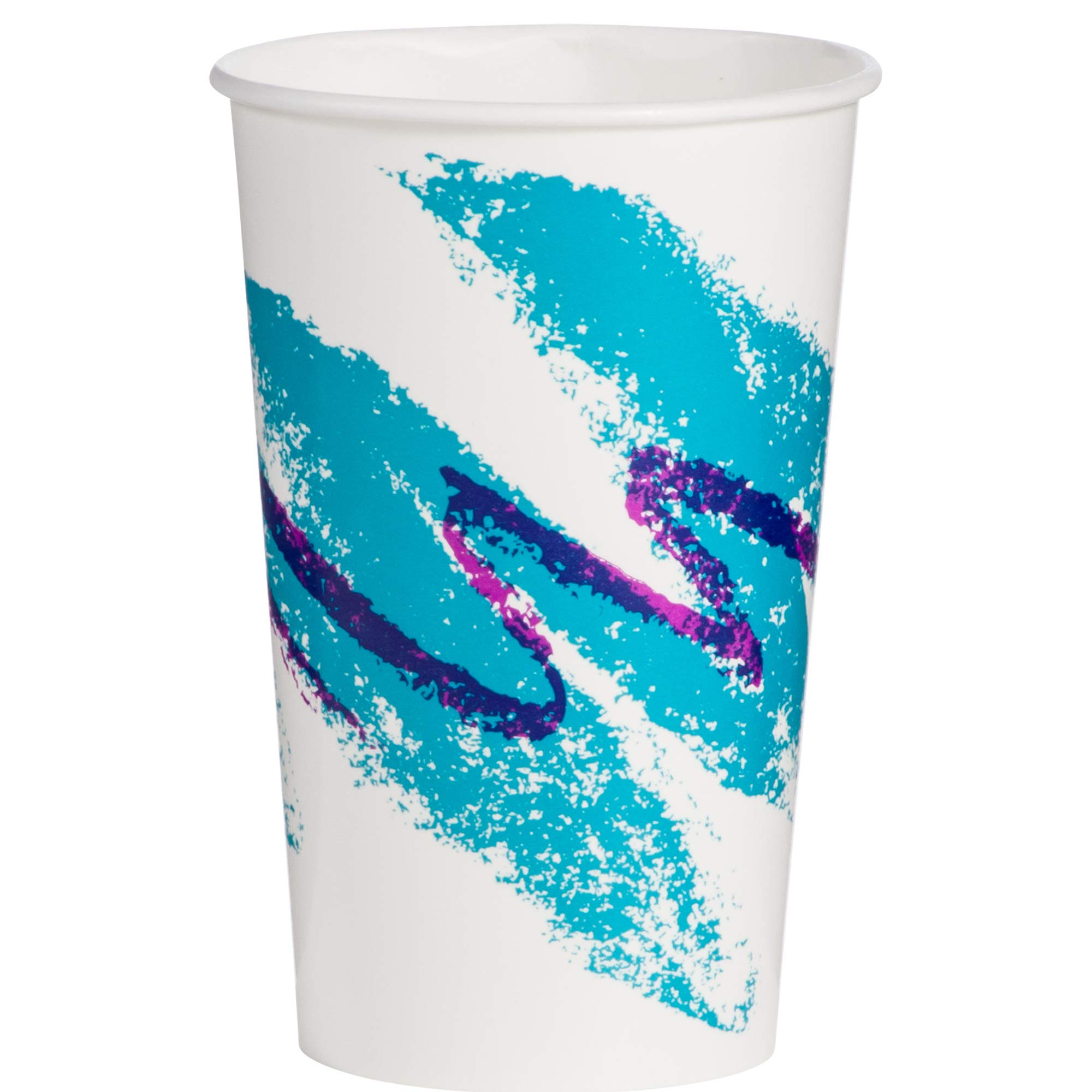 Solo RP16P-00055 16/18 oz Jazz DSP Paper Cold Cup (Case of 1000)