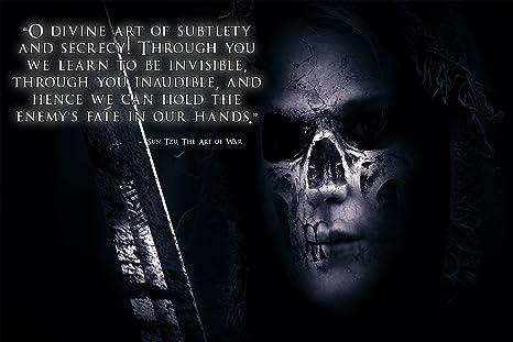 Art Of War Quotes   Amazon Com Warrior Poster Sun Tzu Quote The Art Of War Poster