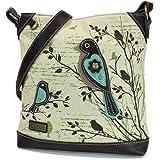 Chala Handbag Safari Canvas Mid-Size Crossbody Messenger Bag