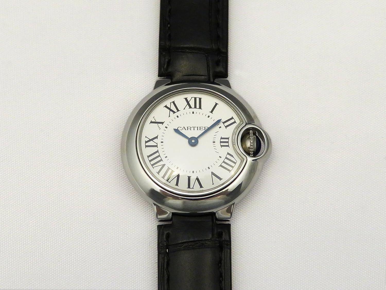 (カルティエ) CARTIER 腕時計 バロンブルー SM W69018Z4 シルバー レディース [並行輸入品] B00S3MGL00