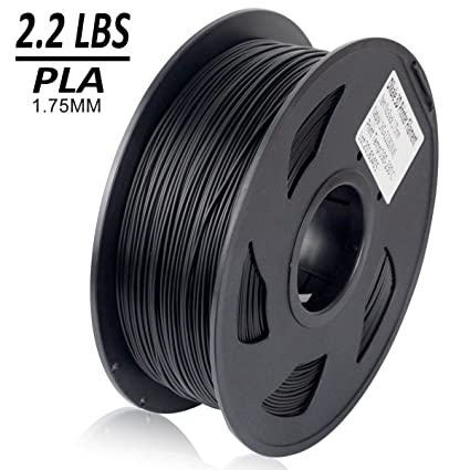 3d Printer Consumables Sporting New Amazon Basics 3d Printer Filament 1 Kg 1.75mm Abs Computers/tablets & Networking Black