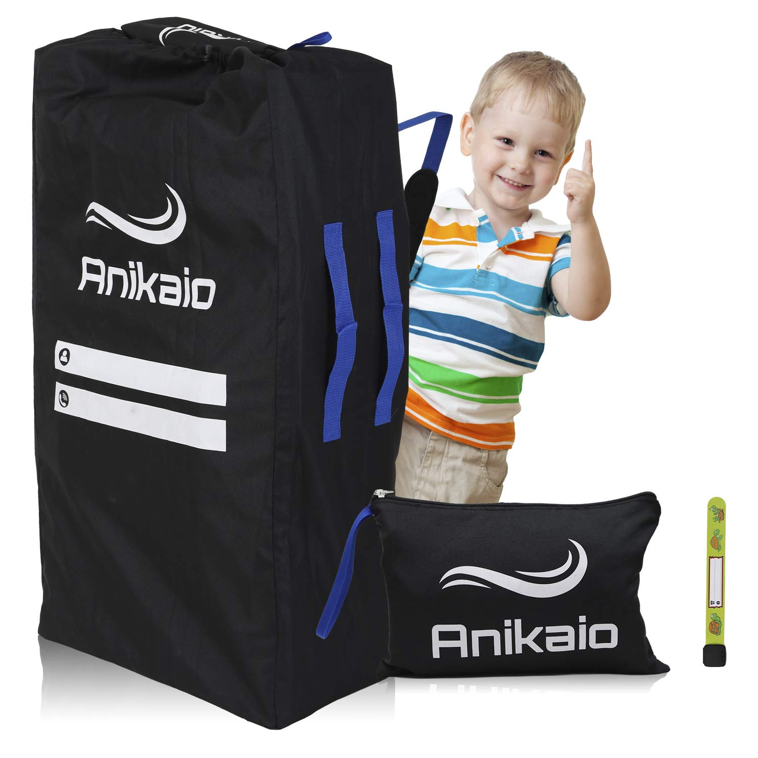 Anikaio Stroller Bag for Airplane Gate Check .Double Stroller Travel Bag to Cover and Protect Your Baby Umbrella Stroller by Anikaio bags