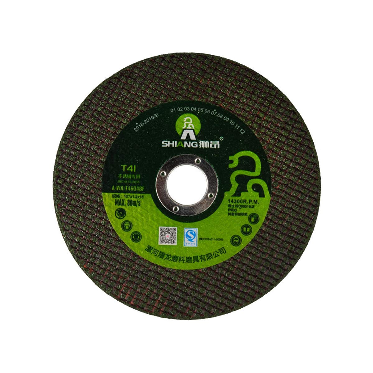 25 Per Pack CHENTAOCS Angle Grinder Cutting Piece Metal Stainless Steel Grinding Piece Grinding Wheel Piece Color : Green