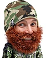 Beard Head - The Original Bushy Duke Knit Beard Beanie