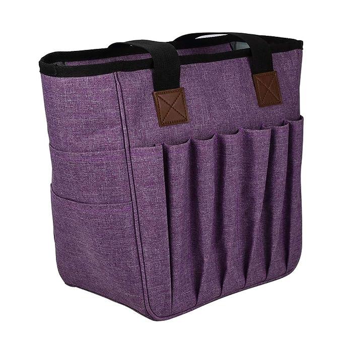 Bolsa de almacenamiento de hilo portátil - Estuche de tejido ...