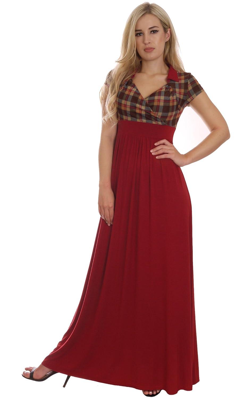Classic Elegant Tartan Style Velvet Dress Evening Party Gown by ...