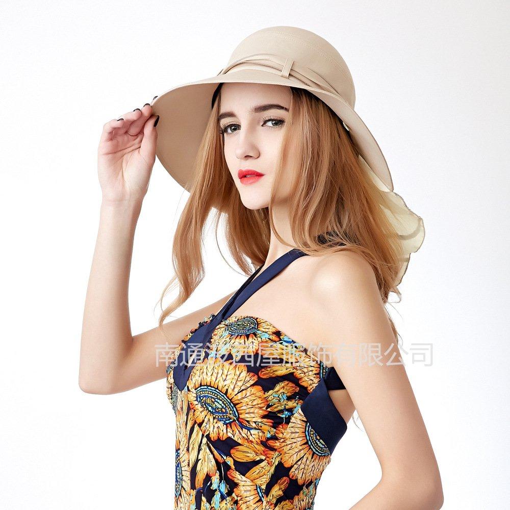 Sombrero para el Sol Damas Plegables Sombrero Damas Verano
