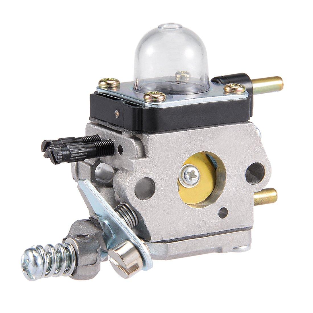 uxcell/® New Carburetor Carb for ZAMA C1U-K54A//K54 C1U-K27B Fits Echo Mantis Tiller 7222 7222E 7222M TC210 TC2100 LHD1700 HC1500