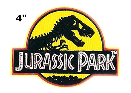 Amazon Jurassic World T Rex 4 Movie Park Logo Raptor Dinosaurs