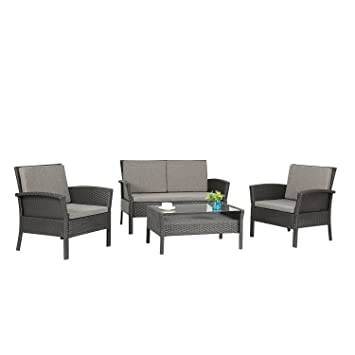 Amazon.com: Azure Sky as57-bl Patio muebles al aire última ...