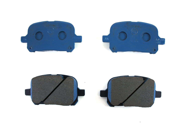 Toyota Genuine Parts 04465-33121 Front Brake Pad Set