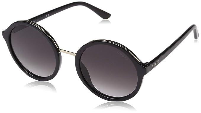 Amazon.com: Guess GU7558 - Gafas de sol brillantes, color ...