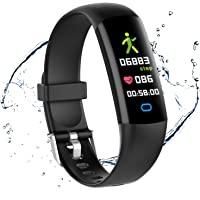 moreFit Fitness Tracker HR, Waterproof Activity Tracker Watch with Blood Pressure Monitor, Excercise Watch Step Tracker…