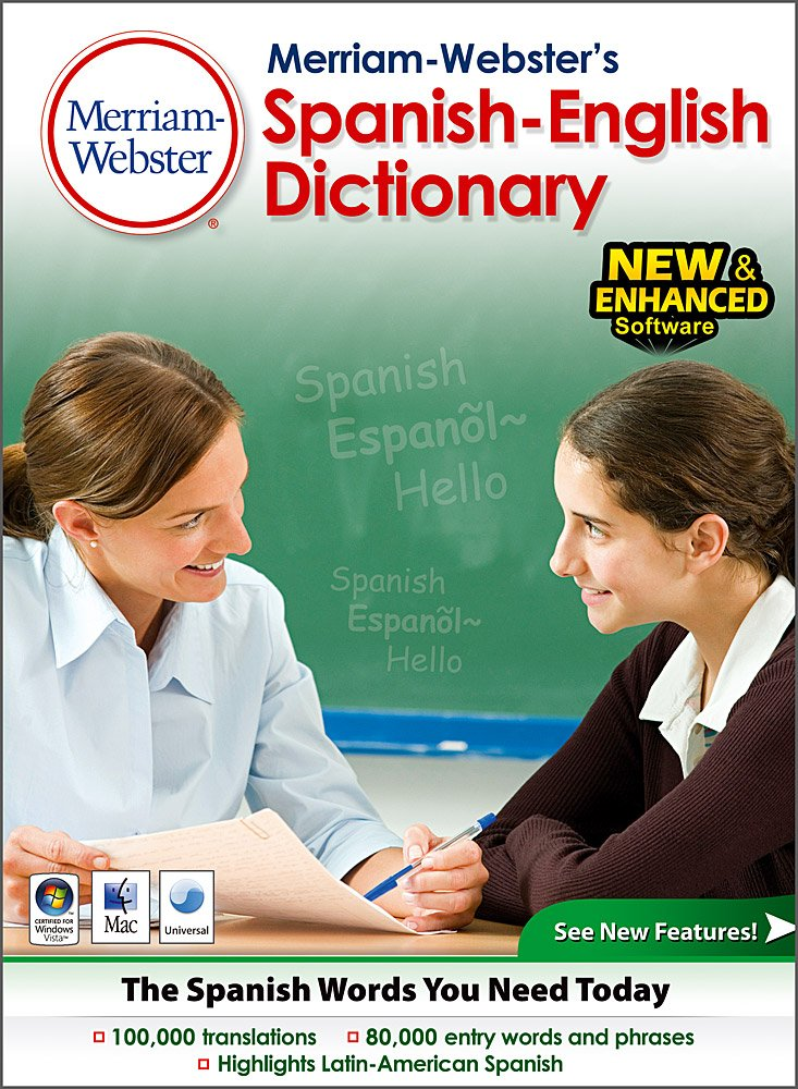 Merriam Webster's Spanish- English Dictionary- Classroom/ Site License 15 users [Download] by Fogware Publishing
