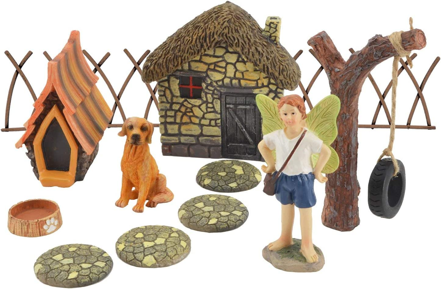 Arcadia Garden Products FG37 Friendly Companion Fairy Garden Kit