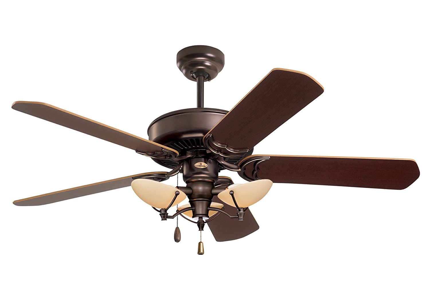 Emerson ceiling fans cf755orb designer 52 inch energy star ceiling emerson ceiling fans cf755orb designer 52 inch energy star ceiling fan light kit adaptable oil rubbed bronze finish amazon mozeypictures