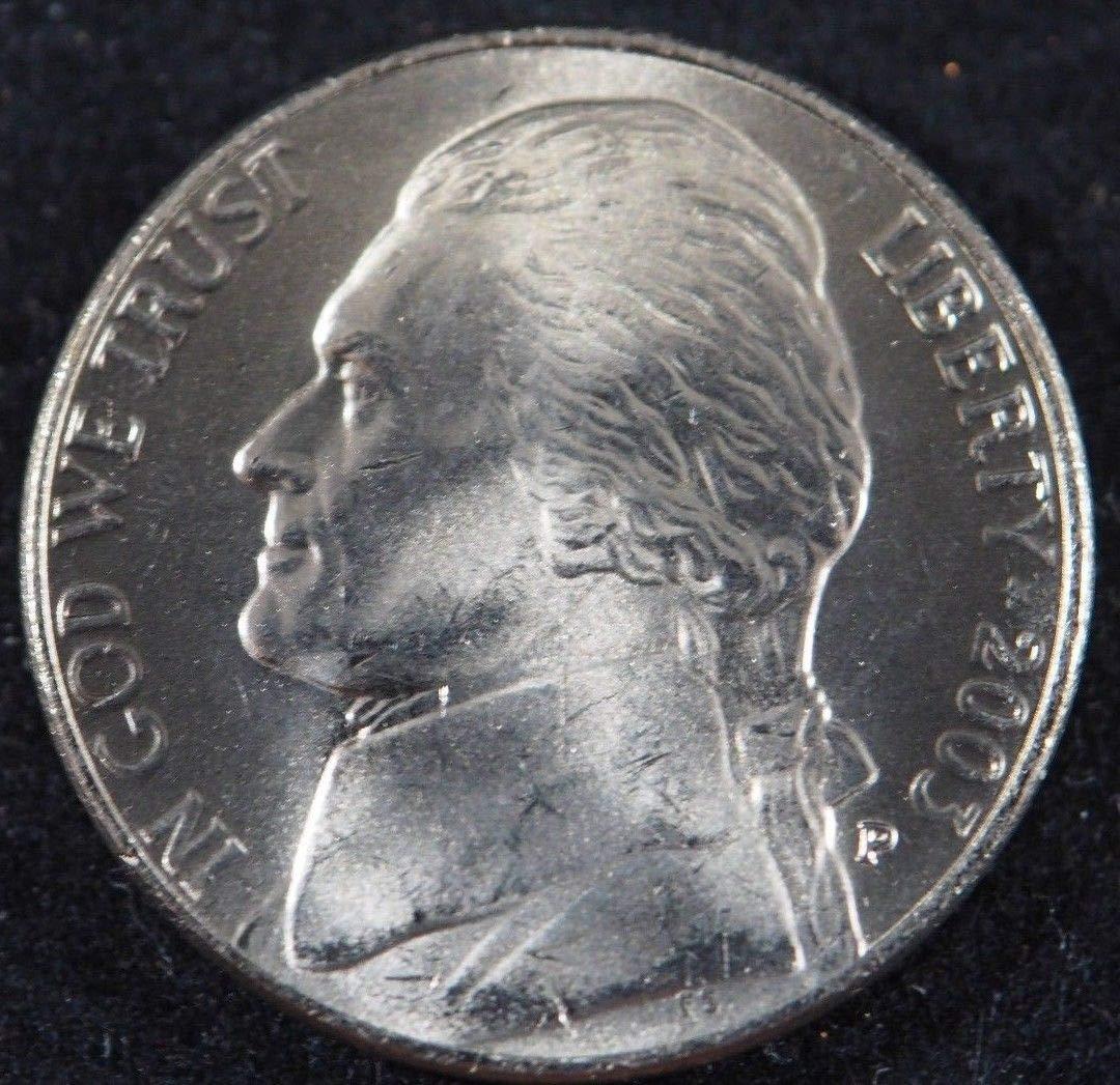2003-P  Jefferson 5 cent Uncirculated