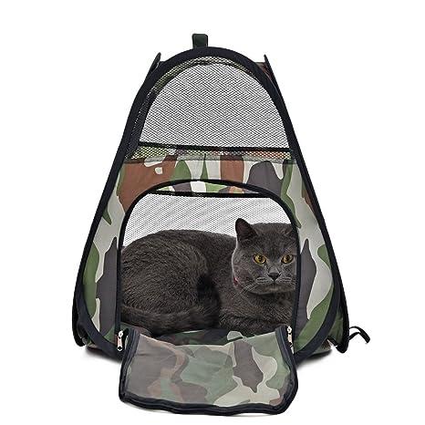 Fang-pets-supplies, Cama para mascotas, camuflaje de gato Camión para mascotas
