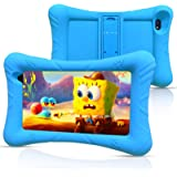 Pritom Kids Tablet, 32 GB ROM, Quad Core Processor, HD IPS Display, WiFi 7 inch Android Tablet, Kid-Proof with Kids Tablet Ca