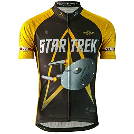 2908f639e Amazon.com  Men s Star Trek Command Cycling Jersey  Sports   Outdoors