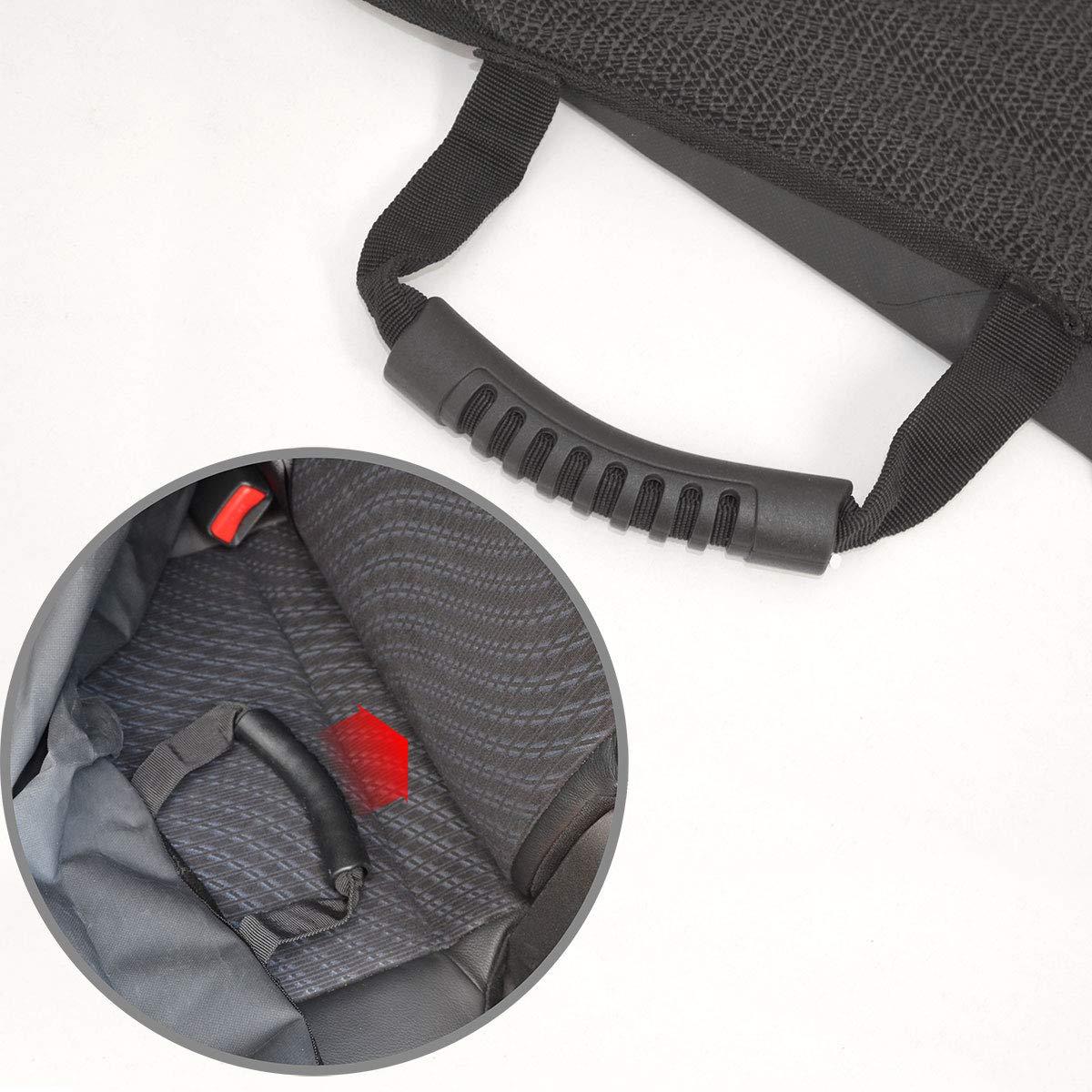 eyepower Protector de tapicer/ía 147x137cm asiento trasero coche perro mascotas