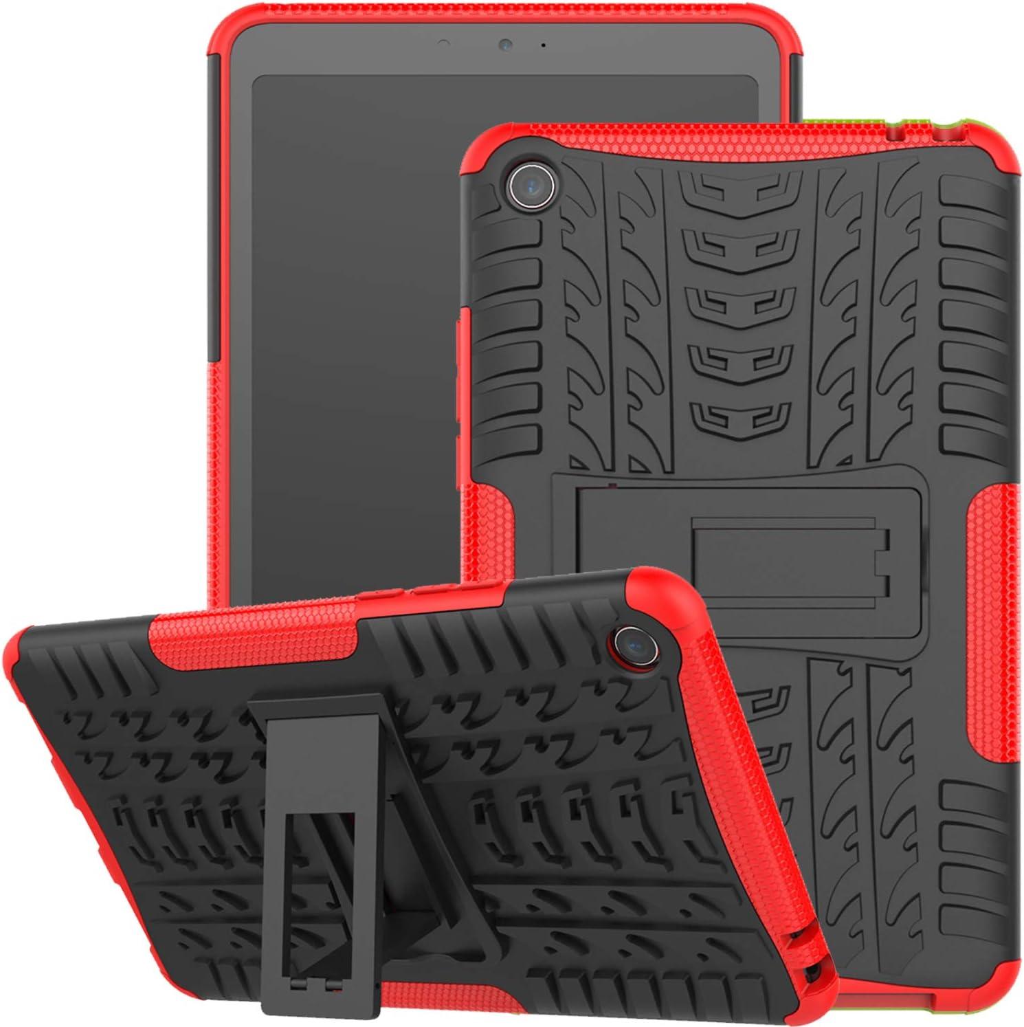 Funda Xiaomi Mi Pad 4, Jhxtech Armor Style Hybrid PC + TPU Funda protectora con soporte para Xiaomi Mi Pad 4 Tablet