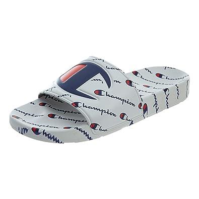 af8cc6744eaec Champion Men s Ipo Big C Logo Slide Sandal (8