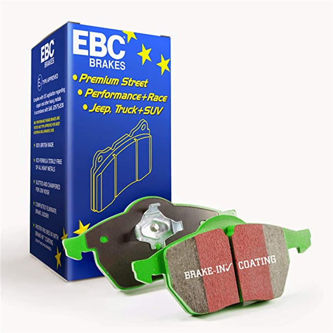 Disc Brake Pad Set-EBC Greenstuff 2000 Series Sport Brake Pads Front EBC Brake