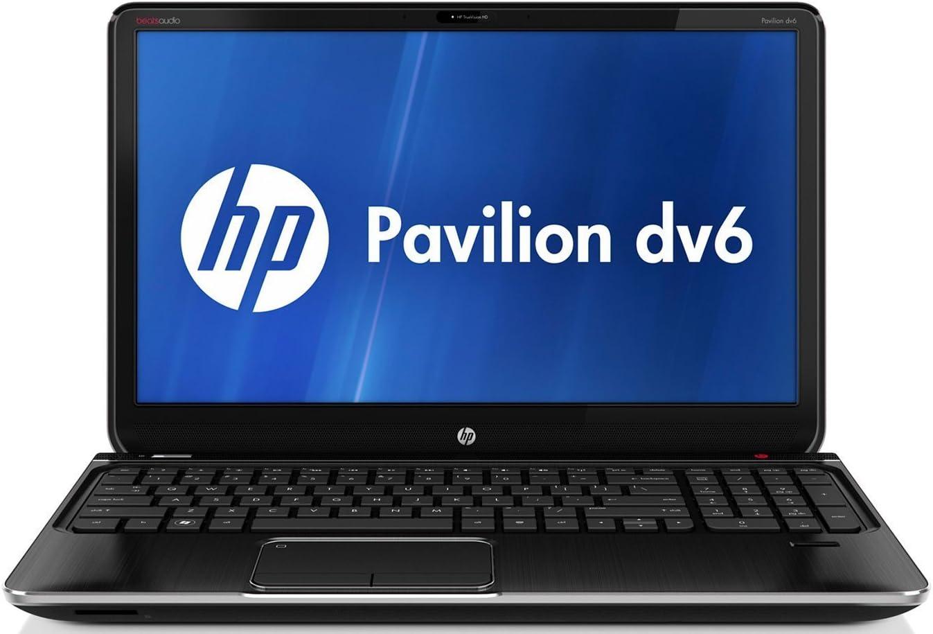 "HP Pavilion dv6t-7000 Quad Edition Entertainment Notebook PC (dv6tqe) 15.6"" Laptop / 3rd generation Intel Core i7-3610QM Processor (IVY BRIDGE) / 1GB 630M GDDR3 Graphics / 8GB DDR3 System Memory / 1TB 5400RPM Hard Drive / Blu-ray player / Beats Audio / midnight black metal finish"
