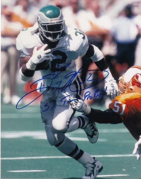 012b1095d Signed Ricky Watters Photograph - 5 X PRO BOWL 8x10 - Autographed NFL Photos
