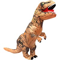 Sungkong Costume Inflatable Dinosaur T-rex Fancy Dress for Cosplay Party (Adult)