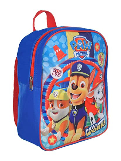 Image Unavailable. Image not available for. Color  Nickelodeon Paw Patrol  Boys 12 Backpack School Bag efd1cc8787636