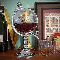 takestop Beertender Globe 1,5litres à la fiche fraîche mappemonde Distributeur boissons Whisky bière alcoolisées Distributeur Distributeur