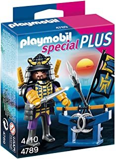 Amazon.com: PLAYMOBIL® Ninja Figure Building Set: Toys & Games