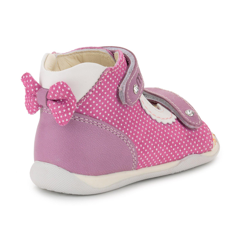 Memo Mini 1JE Baby Girl' First Walker Orthopedic Leather Anti-Slip Sandal, 19 (4 Toddler) by Memo (Image #2)